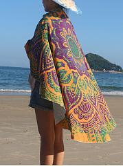 Fabulous-Printed-Round-Beach-Shawl