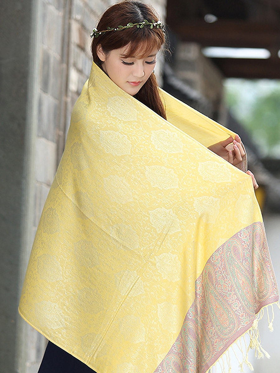 Patchwork Shawls Cotton Travel Scarves Thickening Warm Long Watkins Nap Scarf