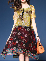 Round-Neck-Printed-Chiffon-Shift-Dress