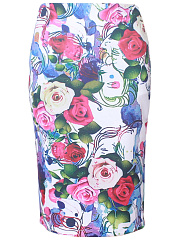 Printed-Pencil-Chic-Midi-Skirt