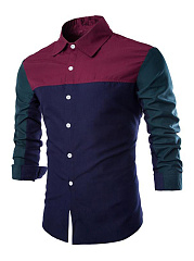 Trendy-Color-Block-Men-Shirt
