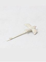 Bird And Branch Shape Hair Clip
