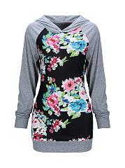 Trendy-Floral-Printed-Raglan-Sleeve-Hoodie