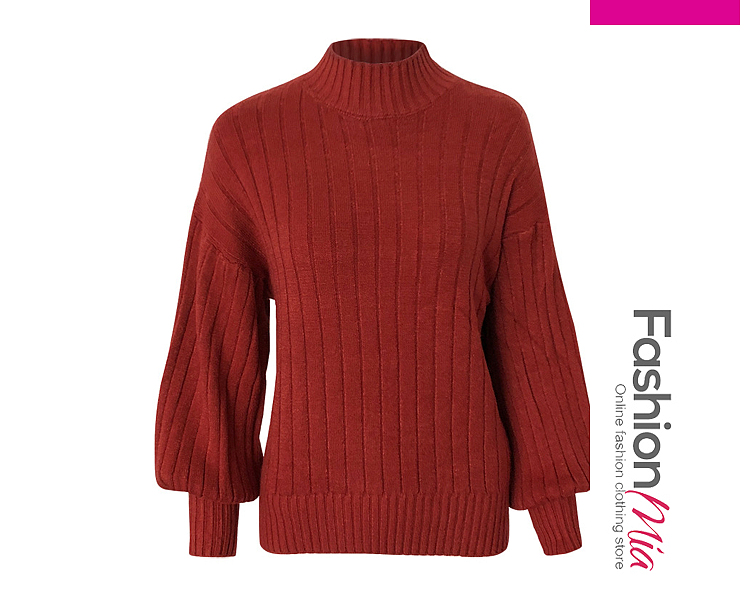 gender:women, hooded:no, thickness:regular, brand_name:fashionmia, style:elegant,fashion, material:knit, collar&neckline:high neck, sleeve:long sleeve, pattern_type:plain, how_to_wash:cold  hand wash, occasion:basic,daily, season:autumn,winter, package_included:top*1, lengthsleeve lengthbust