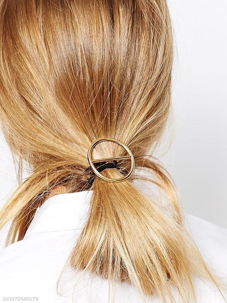 Round Elastic Hair Holder Band