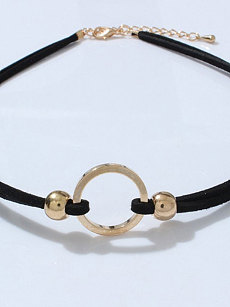 Plain Gemotric Chocker For Women