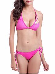 Hot-Style-Halter-Leopard-Bikini