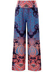 Printed-Wide-Leg-High-Rise-Casual-Pants