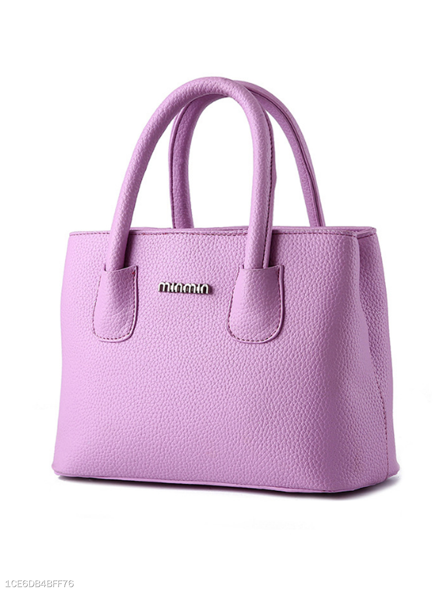 Macarons Color Pu Hand Bag