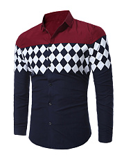 Trendy-Color-Block-Plaid-Men-Shirt-With-Long-Sleeve