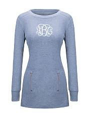 Round-Neck-Zips-Letters-Printed-Sweatshirt
