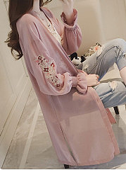 Sweet And Lovely Pink Kimino For Women