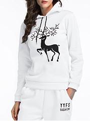 Awesome-Deer-Printed-Hoodie