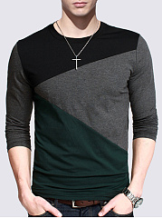 Fitted-Men-Round-Neck-T-Shirt
