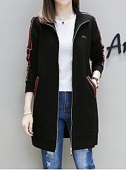 Lapel-Pocket-Striped-Jacket