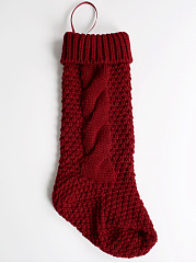 Classic Christmas Knit Stockings
