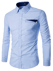 Designed-Turn-Down-Collar-Men-Shirts