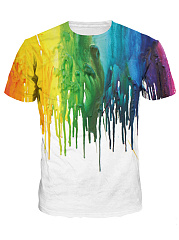 Round-Neck-Multi-Color-Printed-Men-T-Shirt