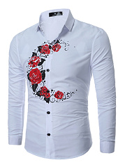Floral-Crescent-Printed-Men-Long-Sleeve-Shirts