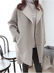 Lapel-Patch-Pocket-Plain-Woolen-Coat