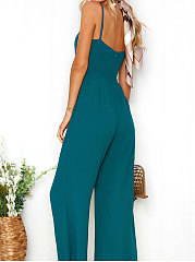 Green Wide Leg Jumpsuit
