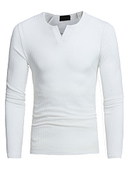 Split-Neck-Plain-Mene28099S-Knitwear