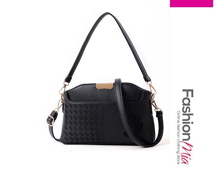 Luxury Leahther Plian Shoulder Bags