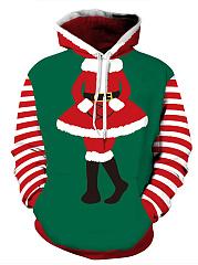 Christmas-Kangaroo-Pocket-Printed-Hoodie