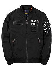 Band-Collar-Zips-Pocket-Men-Bomber-Jacket