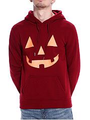 Kangaroo-Pocket-Halloween-Printed-Men-Hoodie