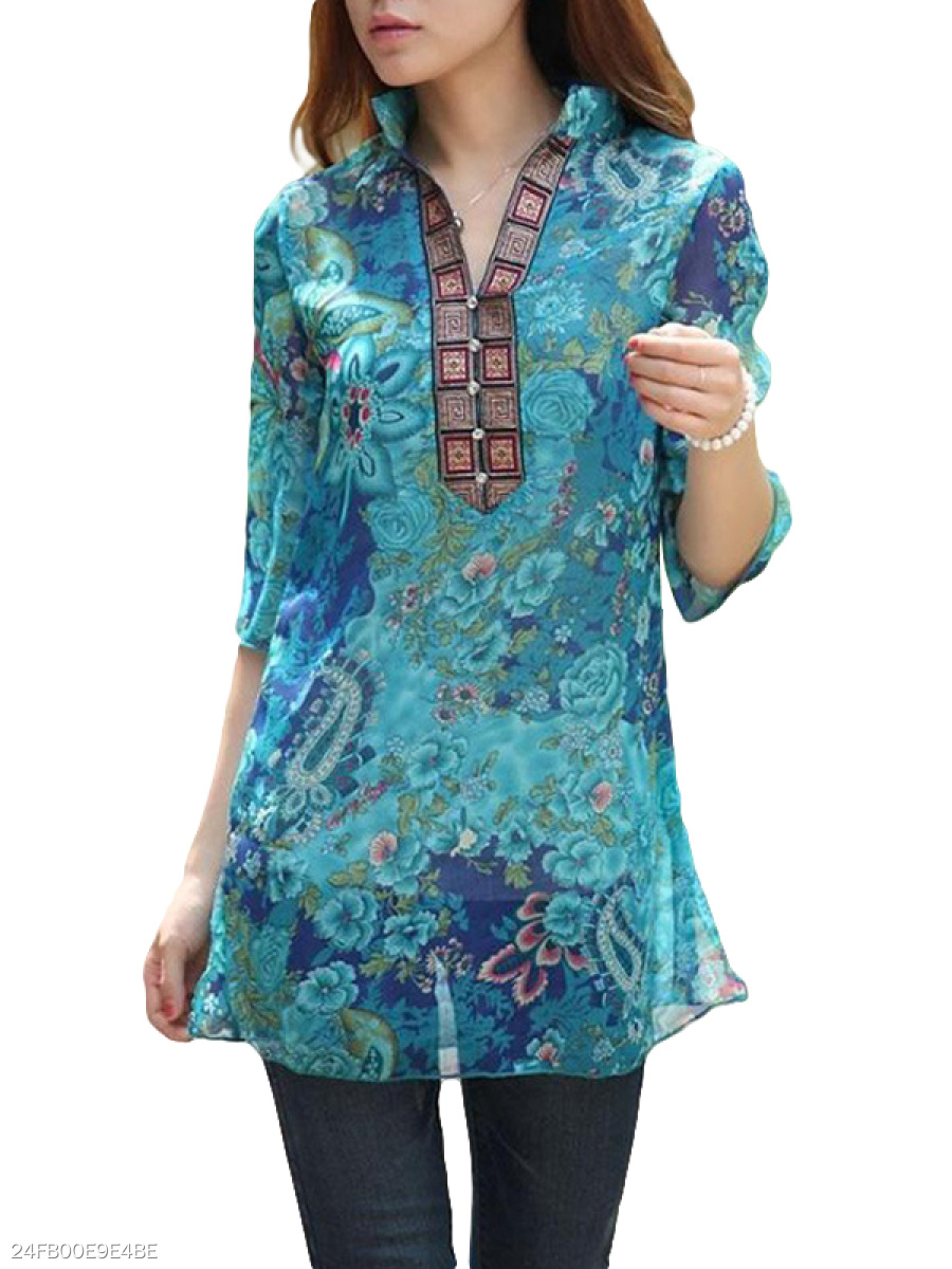 https://www.fashionmia.com/Products/spring-summer-polyester-women-v-neck-decorative-button-abstract-print-half-sleeve-blouses-147139.html