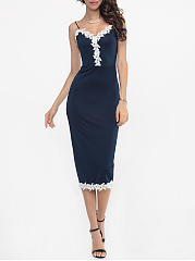 Embroidery-Border-Spaghetti-Strap-Bodycon-Dress