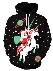 Christmas-Santa-Printed-Kangaroo-Pocket-Hoodie