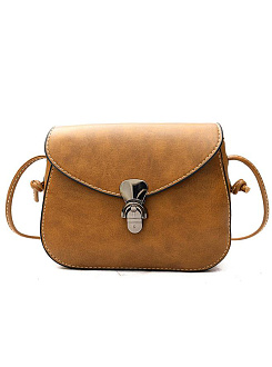 Retro Mini High Quality PU Crossbody Bag