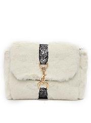 Exclusive-Elegance-Faux-Fur-Chein-Crossbody-Bag
