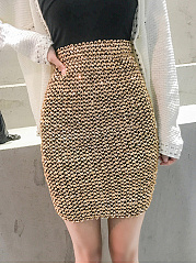 Fashion-Thick-Glitter-High-Stretch-A-Line-Mini-Skirts-For-Lady