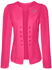 Decorative-Button-Brooch-Plain-Blazer