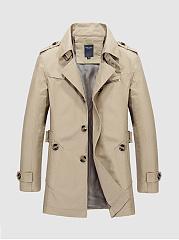Lapel-Men-Trench-Coat