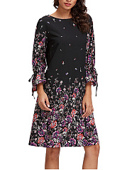 Round-Neck-Printed-Shift-Dress