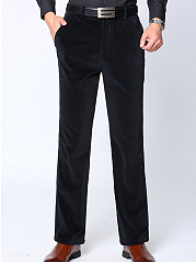 Plain-Straight-Pocket-Mens-Casual-Pants