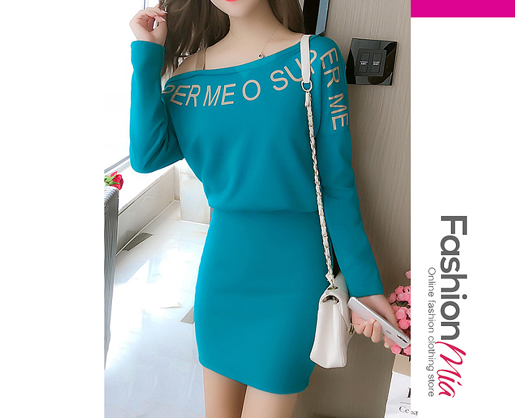 thickness:regular, brand_name:fashionmia, style:western, material:blend, collar&neckline:asymmetric neck, sleeve:long sleeve, embellishment:backless, pattern_type:letters,plain, length:thigh-length, how_to_wash:cold  hand wash, supplementary_matters:the fabric is elastic., occasion:daily,date, season:autumn,winter, dress_silhouette:sheath, package_included:dress*1, lengthsleeve lengthbustwaisthip
