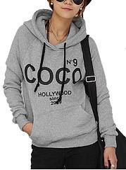 Hooded-Kangaroo-Pocket-Letters-Printed-Raglan-Sleeve-Hoodie