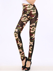Camouflage-Patchwork-See-Through-High-Rise-Legging