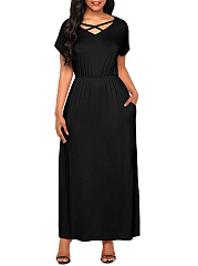 Size Spaghetti Strap Patchwork See Through Glitter Party Dresses590Luvyle IncLV plus size