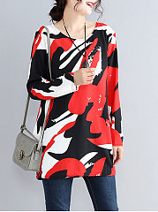 Round-Neck-Abstract-Print-Long-Sleeve-Long-Sleeve-T-Shirts