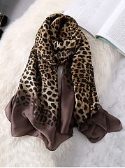 Women Leopard Print Sexy Fashion Stylish Scarves