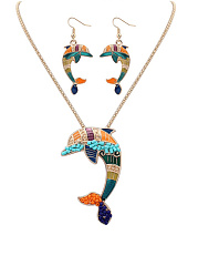 Naughty Dolphin Earrings Set