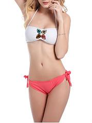 Hot-Halter-Color-Block-Rhinestone-Bikini