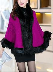 Faux-Fur-Trim-Cape-Coat