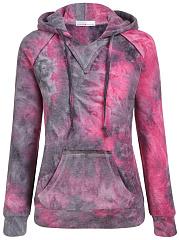 Kangaroo-Pocket-Abstract-Print-Fleece-Lined-Hoodie